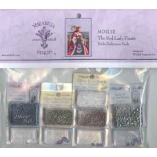 Embellishment Pack - Mirabilia - The Red Lady Pirate