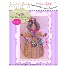 Brookes Books - Sweet Treat Angel - Peg The Plum Pudding Angel
