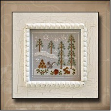 Country Cottage Needleworks - Frosty Forest 4 - Snowy Friends