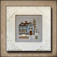 Country Cottage Needleworks - Frosty Forest 7 - Snowgirl's Cottage