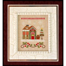 Country Cottage Needleworks - Santa's Village 10 - Gingerbread Emporium