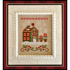 Country Cottage Needleworks - Santa's Village 2 - Poinsettia Place