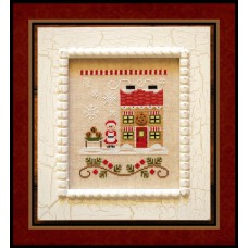 Country Cottage Needleworks - Santa's Village 4 - Mrs Claus' Cookie Shop