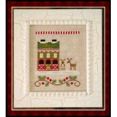 Country Cottage Needleworks - Santa's Village 6 - Reindeer Stables