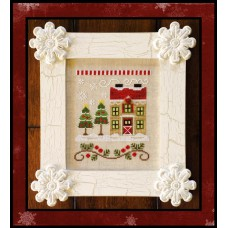 Country Cottage Needleworks - Santa's Village 7 - Christmas Tree Farm