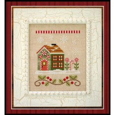 Country Cottage Needleworks - Santa's Village 8 - Candy Cane Cottage