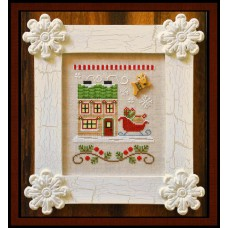 Country Cottage Needleworks - Santa's Village 9 - Santa's Sleighworks