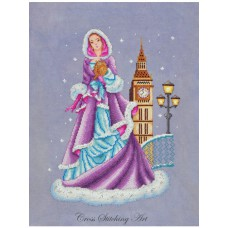 Cross Stitching Art - Adeline
