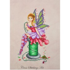 Cross Stitching Art - Arianna, The Stitching Fairy