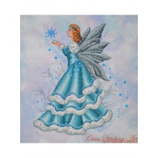 Cross Stitching Art - Celine, The Winter Fairy