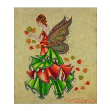 Cross Stitching Art - Fallyn, the Fall Fairy