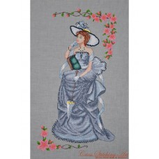 Cross Stitching Art - Lady Vivien
