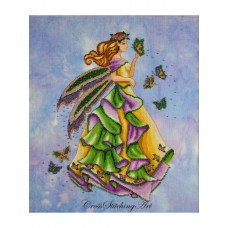 Cross Stitching Art - Lanae, The Summer Fairy