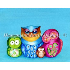 HAED - Mini Owl Family Portrait