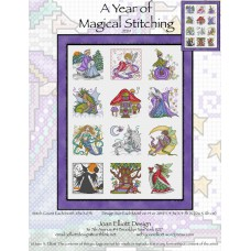 Joan Elliott - A Year of Magical Stitching
