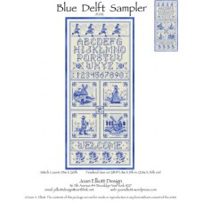 Joan Elliott - Blue Delft Sampler