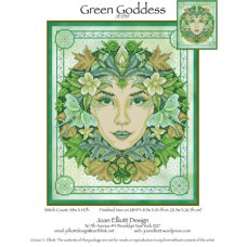 Joan Elliott - Green Goddess