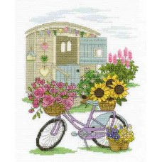 DMC Kit - Flowery Bicycle