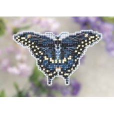 Mill Hill Mini - Spring Bouquet - Black Swallowtail