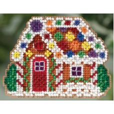 Mill Hill Mini - Winter Holiday - Gingerbread Cottage