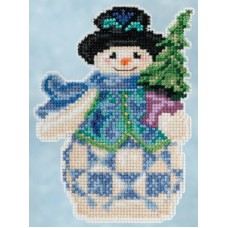 Mill Hill - Jim Shore - Evergreen Snowman