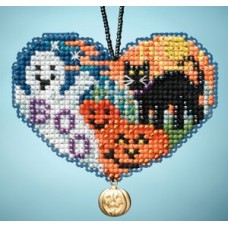 Mill Hill Mini - Charmed Ornament - Love Halloween