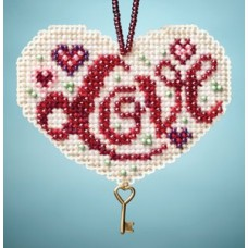 Mill Hill Mini - Charmed Ornament - Love