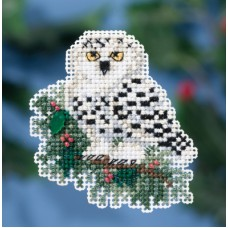 Mill Hill Mini - Winter Holiday - Snowy Owlet