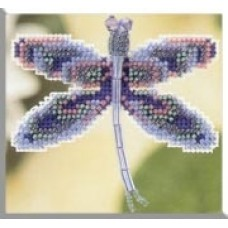 Mill Hill Mini - Dragonfly Pin - Sapphire Dragonfly