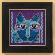 Mill Hill - Laurel Burch - Wild Blue Cat