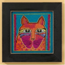 Mill Hill - Laurel Burch - Wild Orange Cat