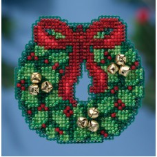 Mill Hill Mini - Winter Holiday - Jingle Bells Wreath