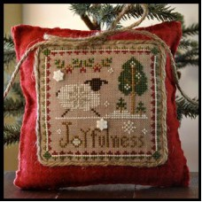 Little House Needleworks - Little Sheep Virtues 12 - Joyfulness