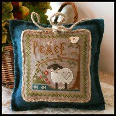 Little House Needleworks - Little Sheep Virtues 3 - Peace