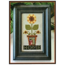Little House Needleworks - Home is Where the Sunflowers Grow