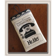 Little House Needleworks - Hello Phone Case