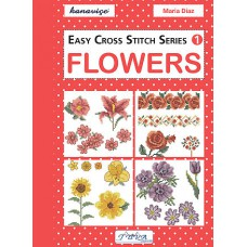 Books - Easy Cross Stitch Series 1 - Flowers