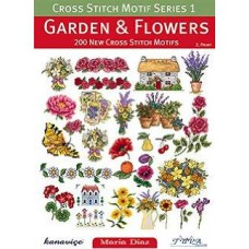 Books - Cross Stitch Motif Series 1 - Garden & Flowers