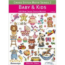 Books - Cross Stitch Motif Series 2 - Baby & Kids