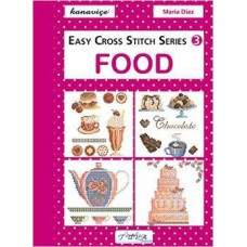 Books - Easy Cross Stitch Series 3 - Food
