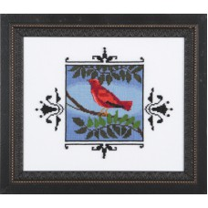 Nora Corbett - Audabon Street Collection - Scarlet Tanager