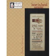 Sale - Heart In Hand - Heart In Hand Sampler