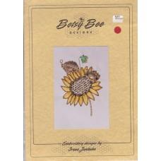 Sale - Betsy Bee Designs - Ladybird on Sunflower