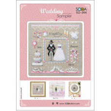 Soda Stitch - 394 - Wedding Sampler