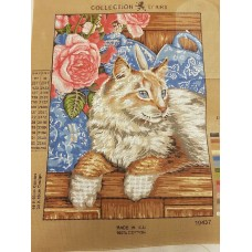 Tapestry Canvas - Fluffy Cat