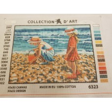 Tapestry Canvas - Seashore Girls