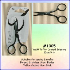 Tools - Black Embroidery Scissors