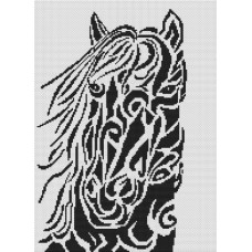 White Willow Stitching - Tribal Horse