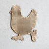 Wooden Magnet Chicken 1 Outside