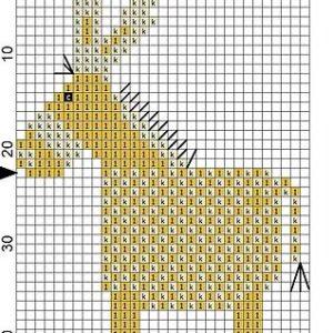 Wooden Magnet Donkey 3